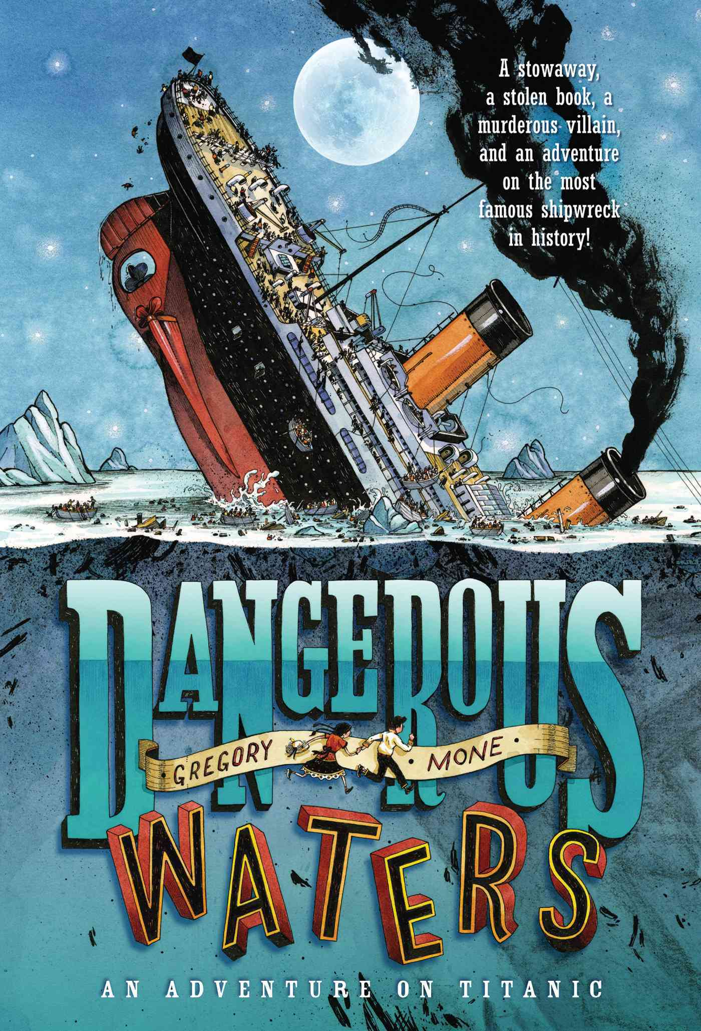 Dangerous Waters By Mone, Gregory